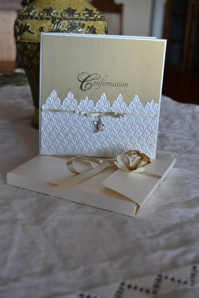 GOLD -Hard cover invite with box envelope