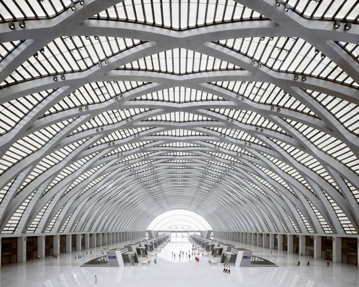 gmp architekten: tianjin west railway station