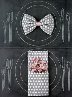 Cute Napkin ideas