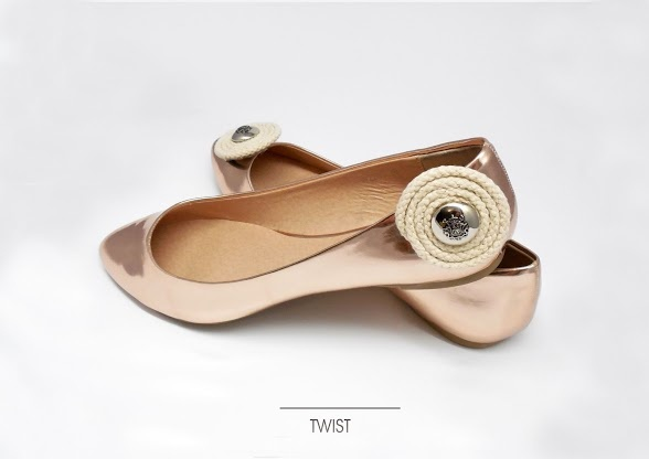 twisted shoe clips with crest  https://www.facebook.com/coquet.art