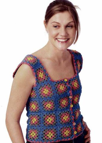 """Just one of the trendy, hip designs from the """"Ready, Set, Crochet"""" collection"""