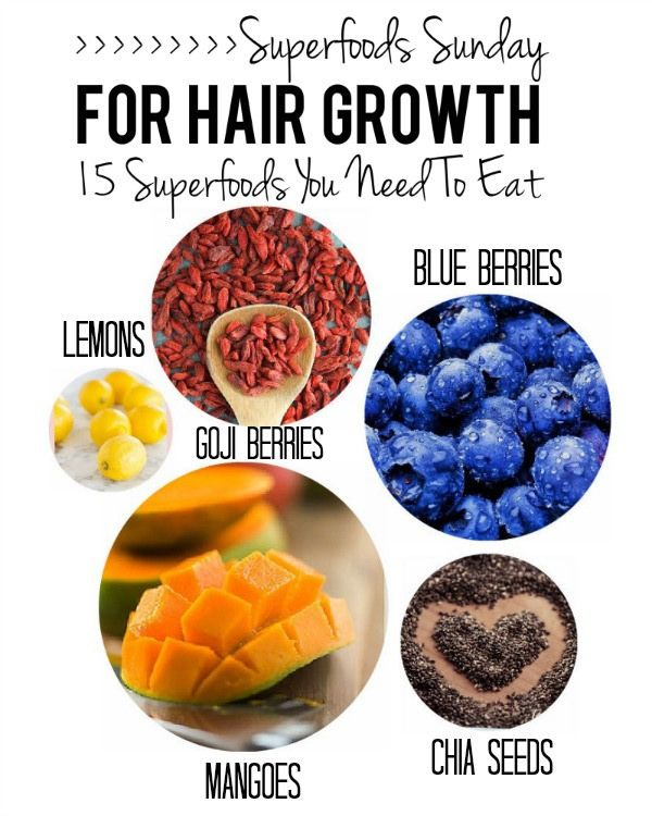 Top Best Foods To Grow Hair Fast