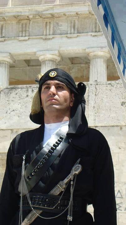 Πόντιος ευζονας- Evzonas Pontios ..Presidential Guard (Proedriki Froura).Greece).