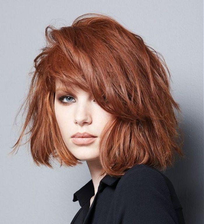 Modne Fryzury Do Ramion Hair Fryzury Kasztanowe Włosy I