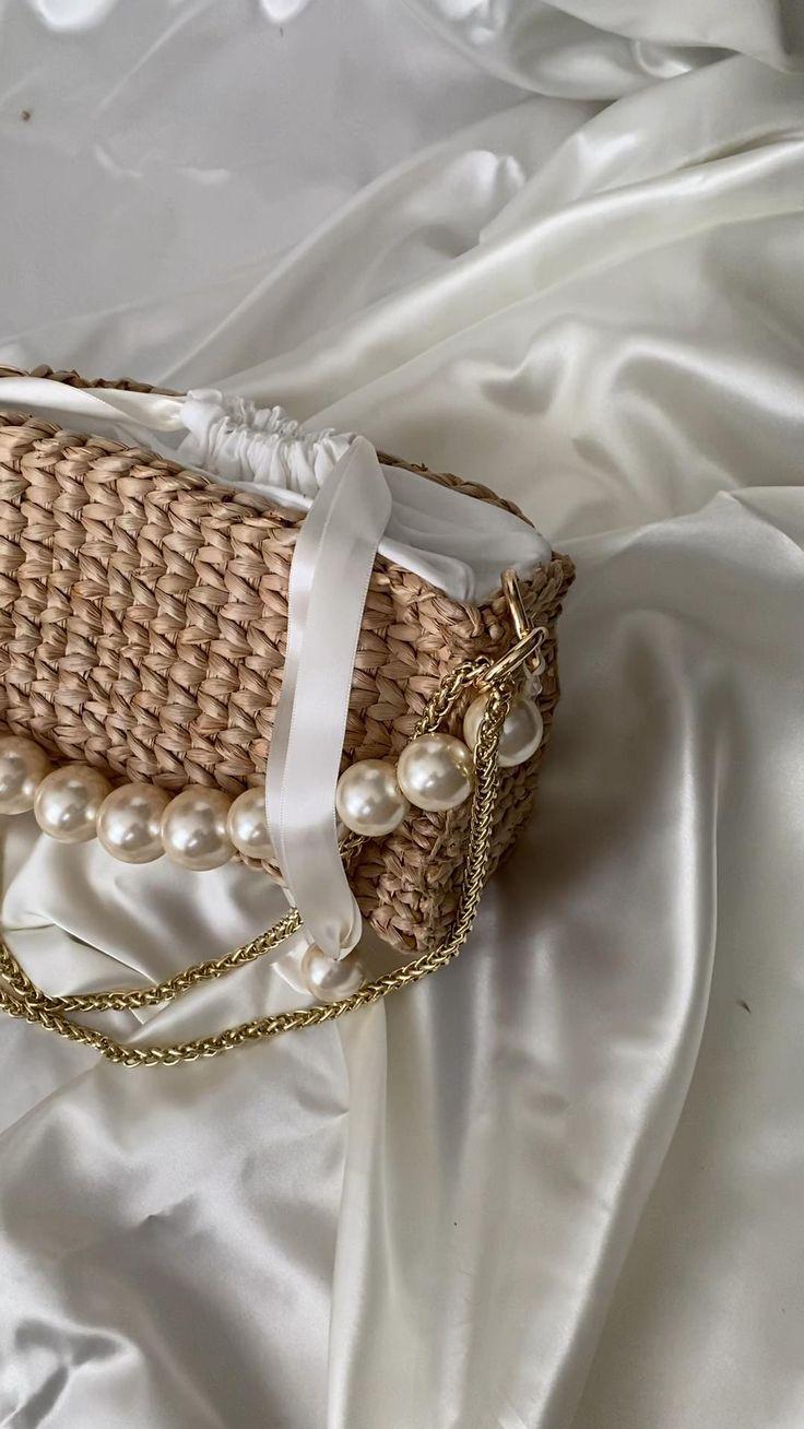 Coral Crochet Tote Bag Crochet Handbag Designer Handbag Basket Bag