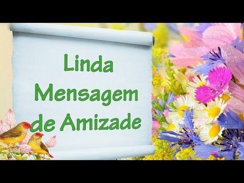 Amigo se guarda na Alma - Linda mensagem de amizade - Vídeo para amiga, amigo - YouTube
