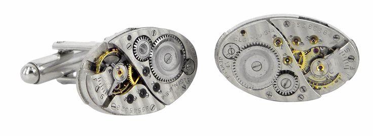 35545328 watch movement cufflinks