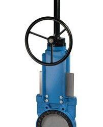 Wafer Slurry Knife Gate Valve with wafer connection between flanges. Great for slurry application due to its robust construction and design. Available in sizes DN50 to DN900. 10 Bar, 6 Bar, 5 Bar. More Knife Gate Valves are available in various classes, materials, types and brands, please contact us.  please do contact us at - http://dewaterproducts.com.au/product/wafer-slurry-knife-gate-valve/