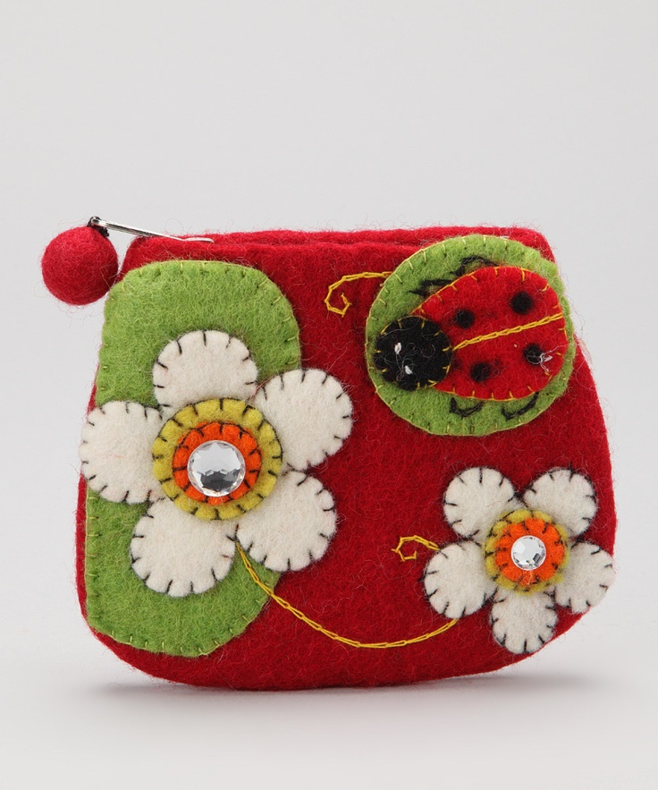 Red Ladybug Coin Purse Daily deals for moms, babies and
