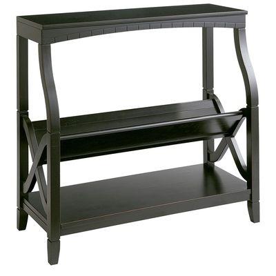 Bookseller Low Shelf - Black