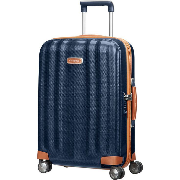 Samsonite Lite Cube Deluxe Carry On Suitcase Blue | Buy Carry On Suitcases