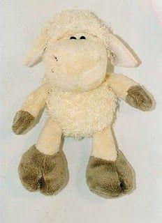 FREE Stuffed Animal Sheep Sewing Pattern / Template