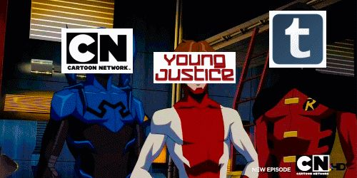 funny young justice gifs                                                                                                                                                     More