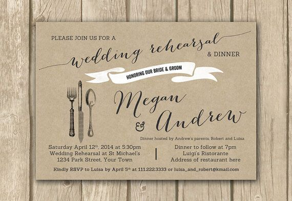 Who Do You Invite To Wedding Rehearsal Dinner: Best 25+ Wedding Rehearsal Invitations Ideas On Pinterest