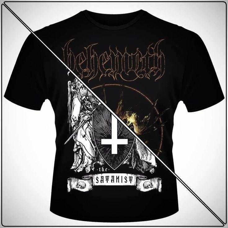 The Satanist. Mai multe modele cu Behemoth gasiti pe www.metalheadmerch.ro #romania #tricou #tricouri