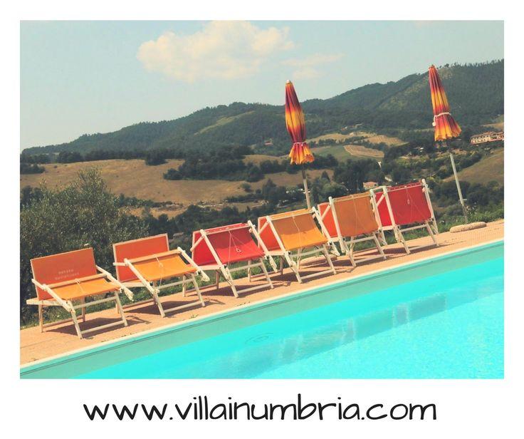 Agriturismo Gubbio is a farmhouse with 6 elegant apartments.