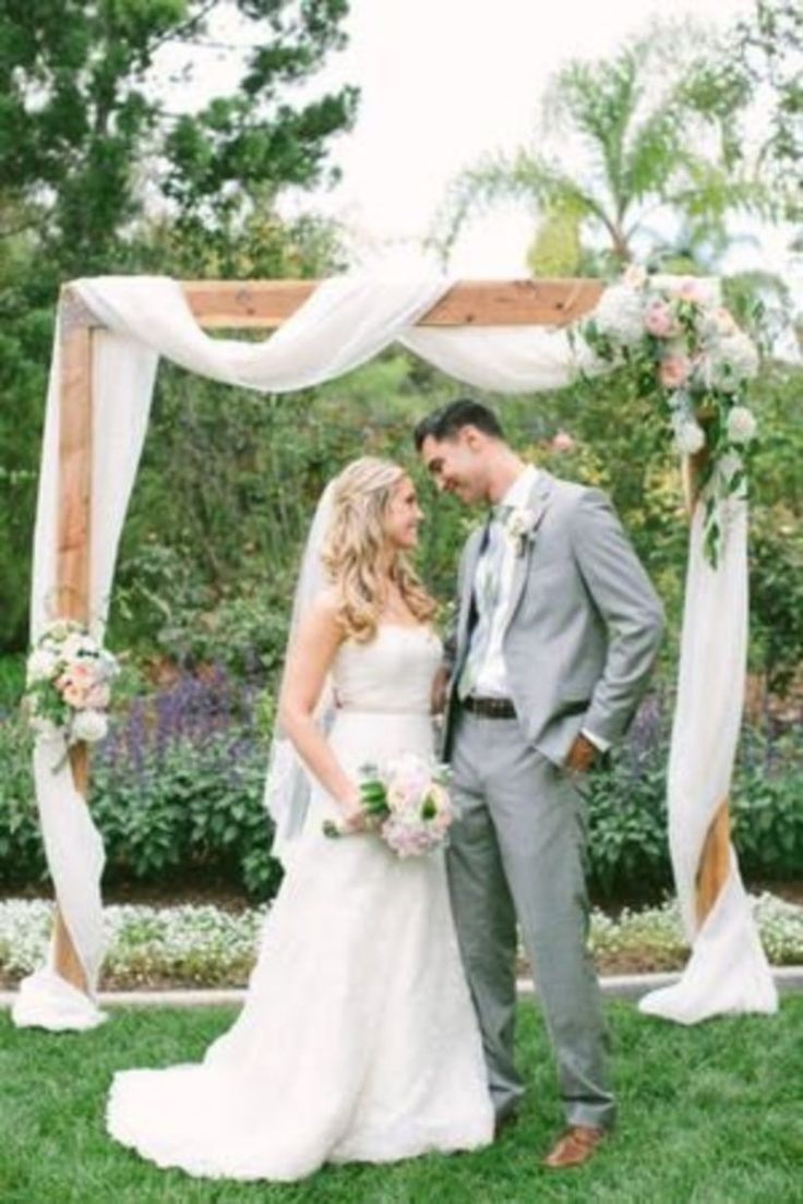 Very Romantic Backyard Wedding Decor Ideas 26 | Backyard ...