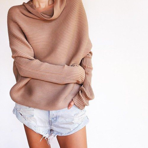 Fivefourfashion: loose beige sweater ☆