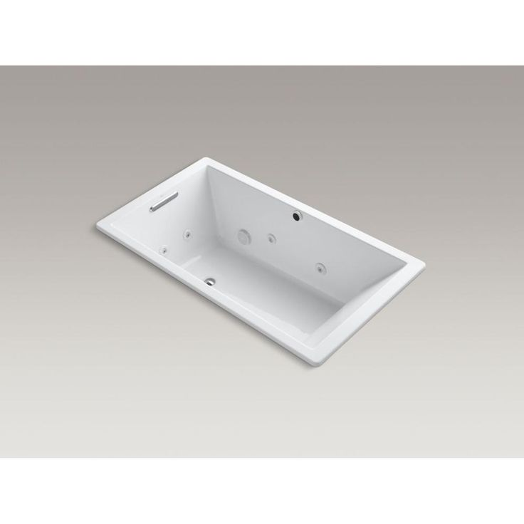 Kohler - 546370 sales at Pipeline Supply Inc. Drop In Whirlpool Bathtubs in a decorative White finish