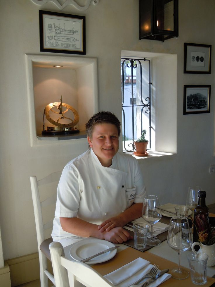 Marion Kumpf Head Chef at Spice Route Restaurant