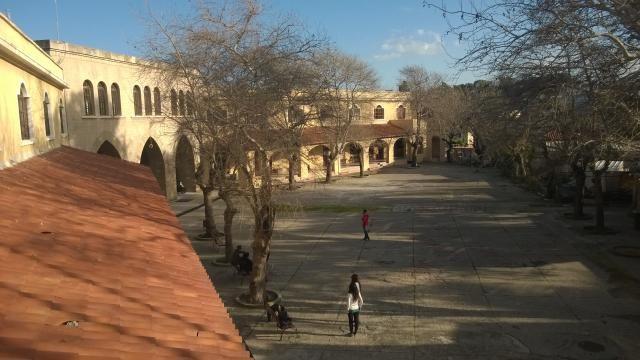 Ρόδος   Άποψη του Πανεπιστημίου Αιγαίου - προαύλιος χώρος (ΦωτοGallery κοινότητας) #aegean #university #building #campus #pintruaegean #place #Rhodes #island http://my.aegean.gr/gallery/Places/Greece/Rhodes/WP_20140210_15_57_07_Pro.jpg.html