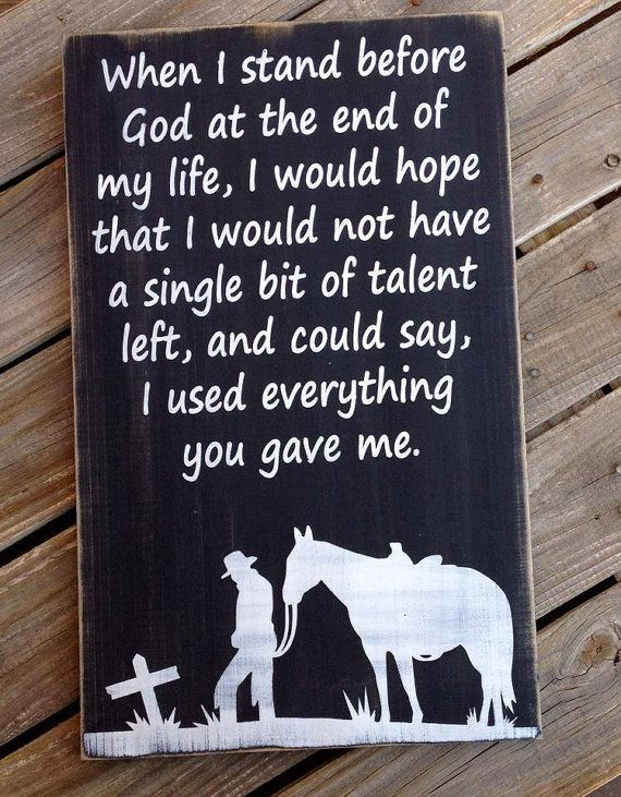 Typography Word Art Sign  Cowboy Prayer by ABurlapButterflyShop