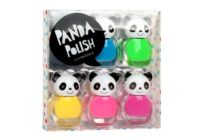 PANDA POLISH  Panda Polish pack includes 6 bottles of neon nail polish - perfect for an exciting day and night out.  Available in all Cosmetics Plus stores. See location: cosmeticsplus.com.au