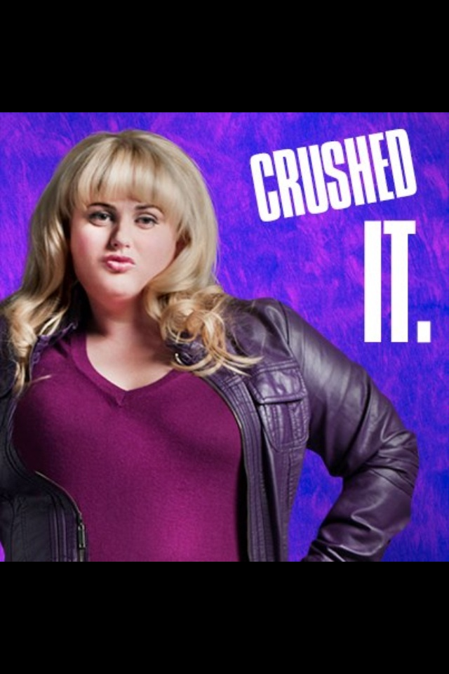 The Fat amy pitch perfect are mistaken