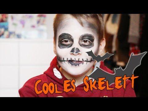 Bildergebnis für halloween make up für kinder jungs