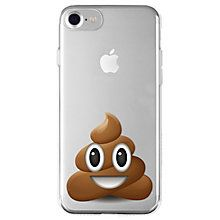 La Vie iPhone 6/6S/7 mykt deksel (poop emoji)
