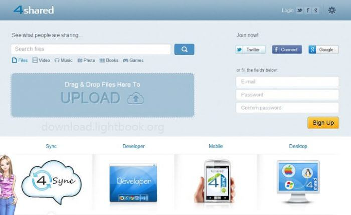 Download 4shared 2019 🥇 File Storage Software for PC/Mobile