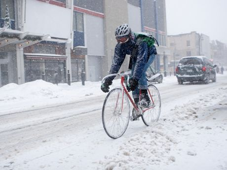 The winter weather doesn't have to keep you indoors. Here are survival tips for taking your bike outside during the cold winter months.