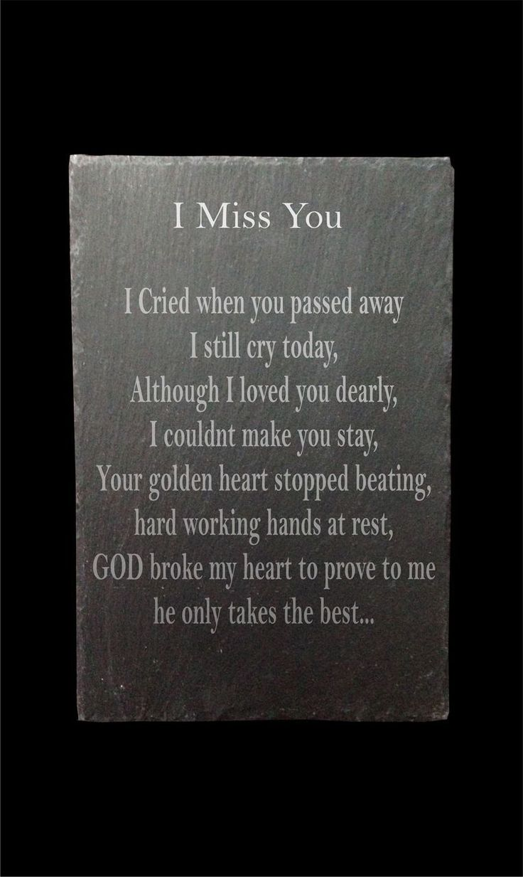 Slate memorial plaque - Engraved and Signed