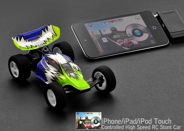 the world s most awesome high speed iphone rc stunt car. Black Bedroom Furniture Sets. Home Design Ideas
