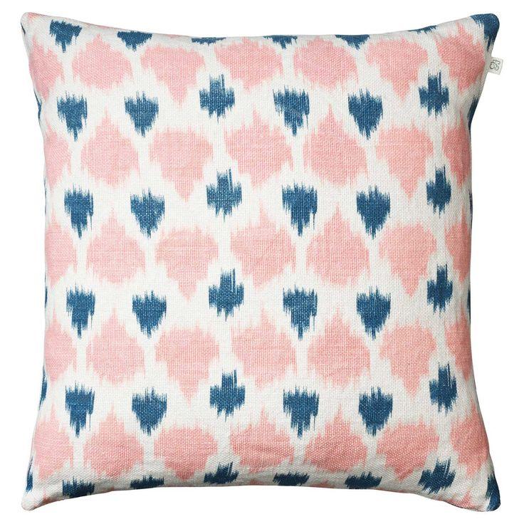 Ikat Assam putetrekk, rosa/blå i gruppen Tekstil / Pledd & Pynteputer hos ROOM21.no (131506)