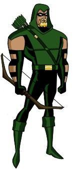 Arqueiro Verde - Galeria de Personagens de Desenhos Animados - GPDesenhos.com.br