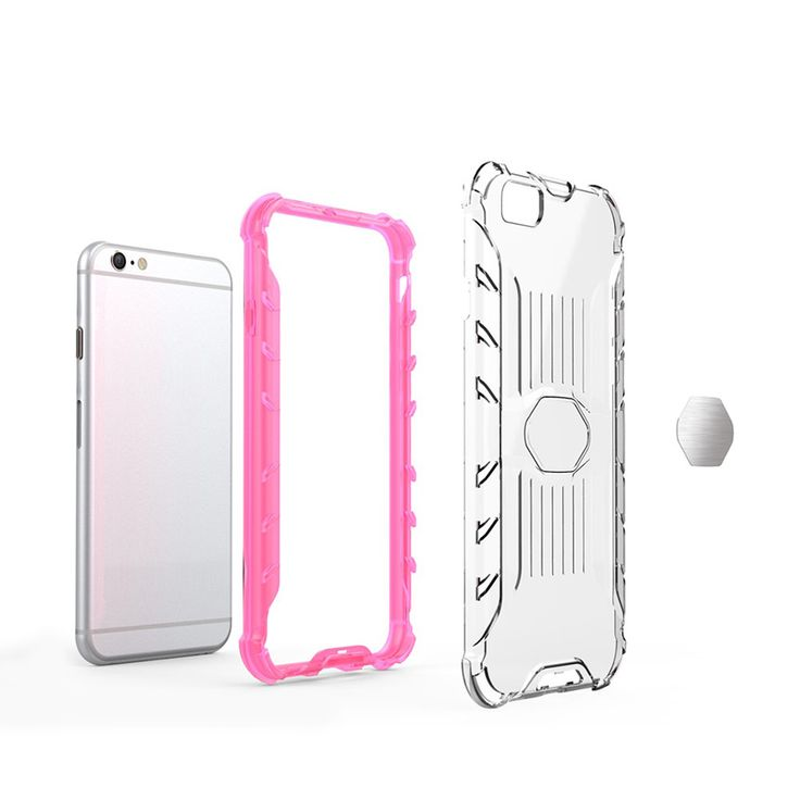 This is consisted of a clear PC phone case and a TPU part to be made inside the PC case. Email: marketing@mocel-case.com Whatsapp: 0086 137 1039 2049 http://www.mocel-case.com/iphone-6-clear-phone-case-with-elegant-tpu-bumper #mocelcase #phonecasefactory #phonecasemanufacturer #wholesalephonecases #iPhonecasesforwholesale