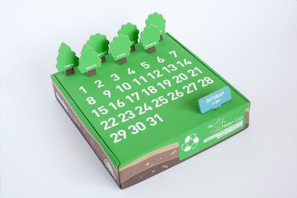 Eco Gift Package   Eko Dar Kalendar by filip nemet, via Behance