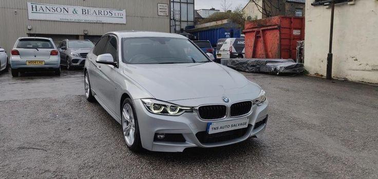 eBay 2017 67 BMW 3 SERIES 320D M SPORT AUTO UNRECORDED