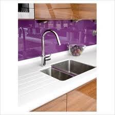 perspex kitchen backsplash