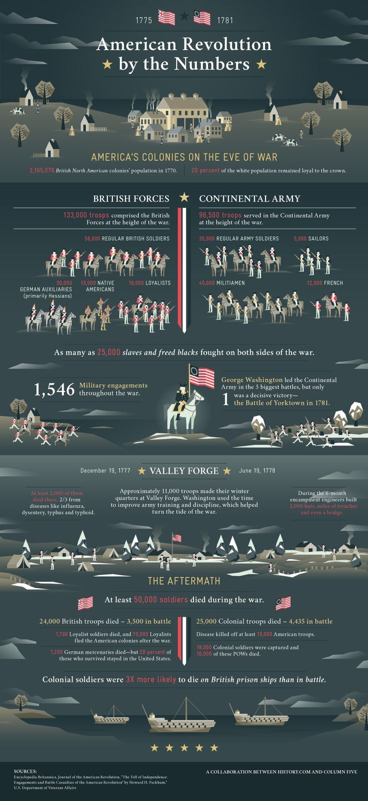 American Revolution Infographic  #infographic #war #history