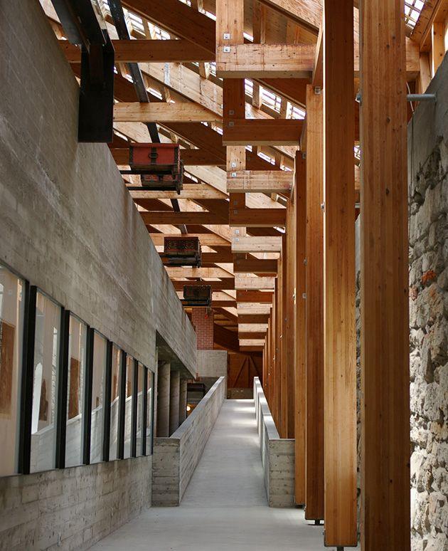 Hedmark Museum : Storhamar Barn, Hamar Norway | Sverre Fehn
