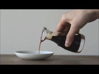 「液だれしない」にこだわり設計された、世界一美しいカタチ。。THE 醤油差し