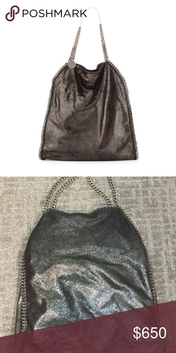 WEEKEND SALE Stella McCartney Falabella Ruthenium Beautiful bag, used great condition. Feel free to contact me with any questions/offers. Thanks! Stella McCartney Bags Shoulder Bags