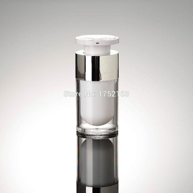 Großhandel 100 STÜCKE/LOT 15ML Presse pumpe flaschen, lotion flaschen, kosmetikbehälter, vakuum kunststoff flasche, acryl airless flaschen in Großhandel 100 STÜCKE/LOT-15ML Presse pumpe flaschen, lotion flaschen, kosmetikbehälter, vakuum kunststoff flasche, acryl airless-flaschen aus Mehrwegflaschen auf AliExpress.com | Alibaba Group