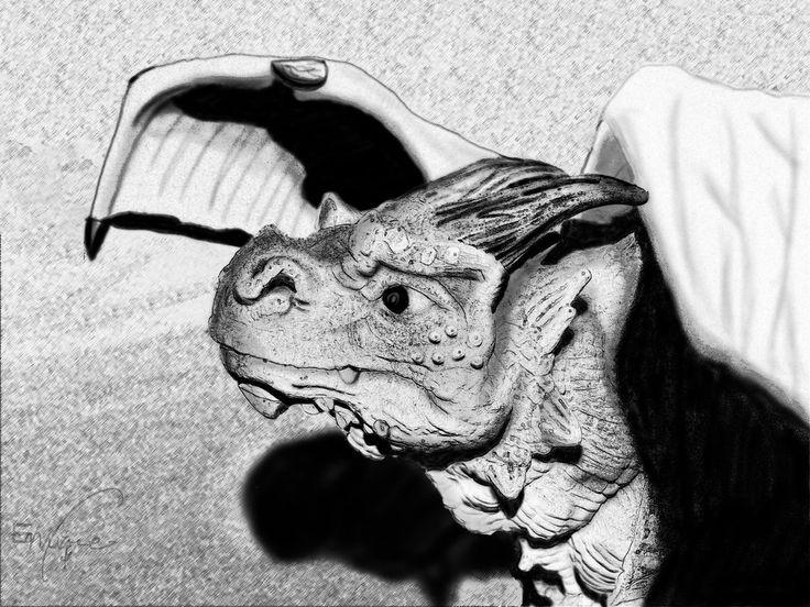 Dragon by eruizprieto.deviantart.com on @DeviantArt