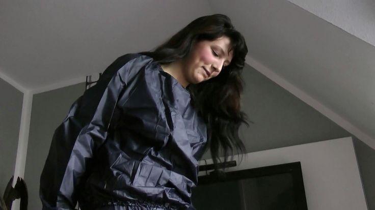 Sexy nylon sauna suit
