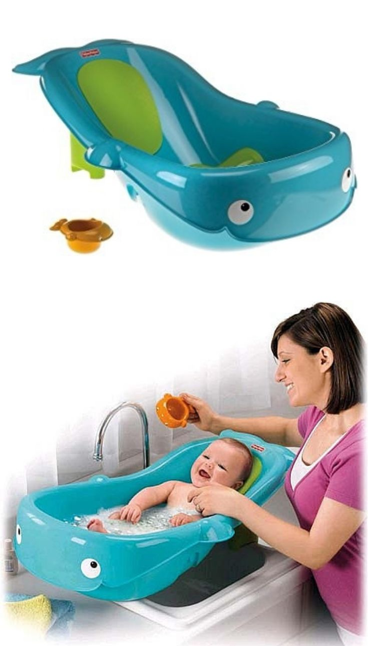 On our list of the best baby tubs is the Fisher-Price Precious ...