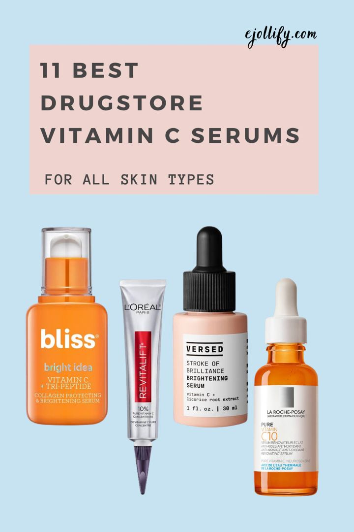 11 Best Drugstore Vitamin C Serums For All Skin Types Anti Aging Skincare Products Of 2020 Anti Aging Skincare Routine Anti Aging Skin Care Vitamin C Serum