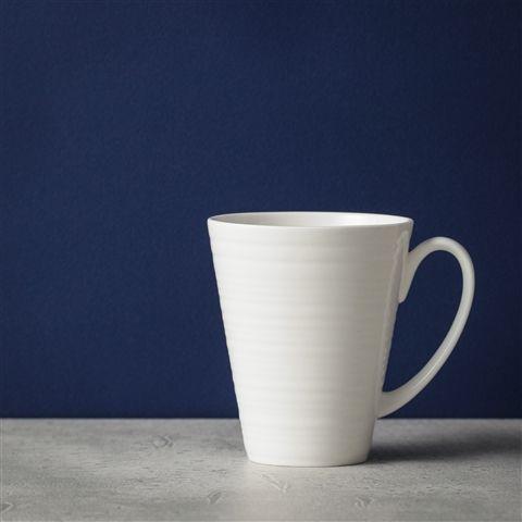 ボーンチャイナ WAVY マグ ホワイト(ホワイト) Francfranc(フランフラン)キッチン雑貨 食器 マグカップ